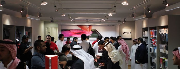 iSTYLE Apple Premium Reseller | آي ستايل is one of Gáborさんの保存済みスポット.