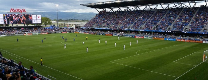 Avaya Stadium is one of San Francisco.