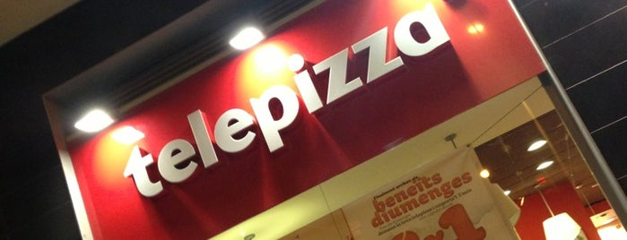 Telepizza is one of Barcelona.