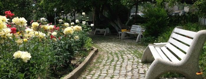 Градинката на Петър Дънов (Petar Danov memorial garden) is one of Locais curtidos por Zorata.
