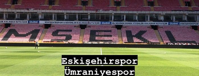 Yeni Eskişehir Stadyumu is one of Erkanさんのお気に入りスポット.