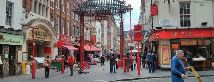Chinatown is one of United Kingdom.