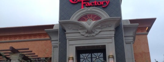 The Cheesecake Factory is one of Steel City.