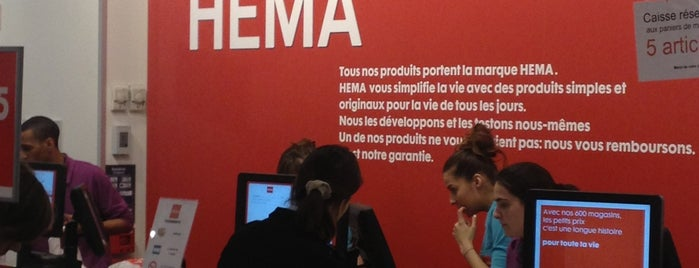 HEMA is one of Paris.