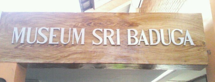 Museum Sri Baduga is one of Museum In Indonesia.