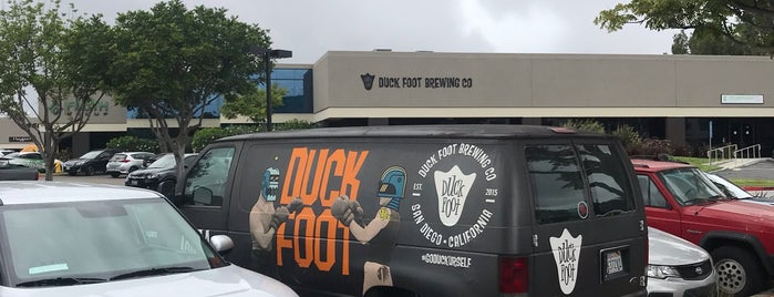 Duck Foot Brewing Company is one of SoCal.