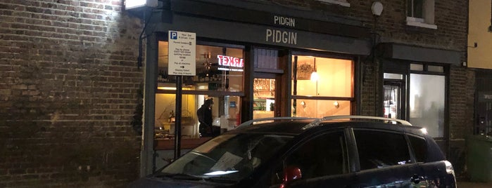 Pidgin is one of Hackney.