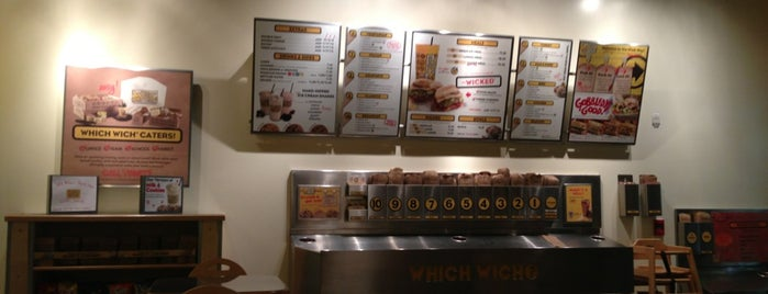 Which Wich? Superior Sandwiches is one of USA Orlando.