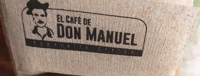 El Café de Don Manuel is one of สถานที่ที่บันทึกไว้ของ Gustavo.