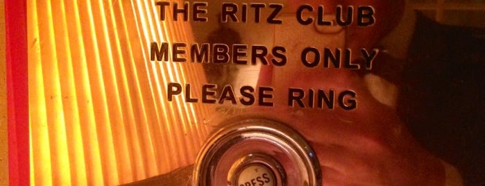 The Ritz Club is one of Favorites.