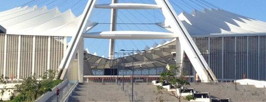 Moses Mabhida Stadium is one of Estadios.