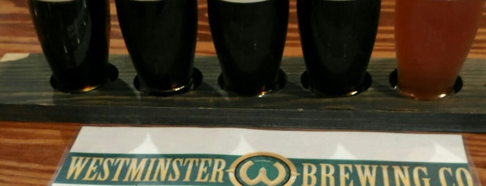 Westminster Brewing Company is one of Locais salvos de Natalie.