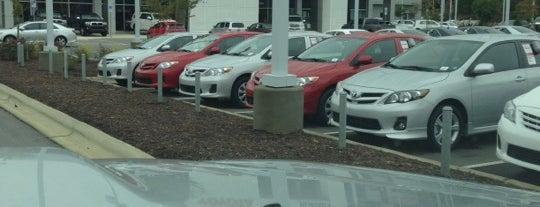 Hendrick Toyota Apex is one of Lugares favoritos de Sarah.