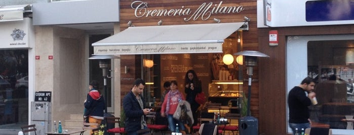 Cremeria Milano is one of İkra's.