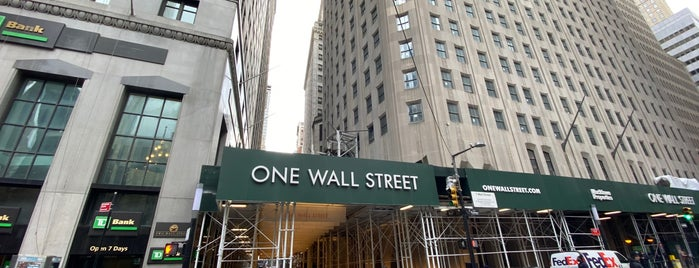 One Wall Street is one of Tempat yang Disukai Paco.