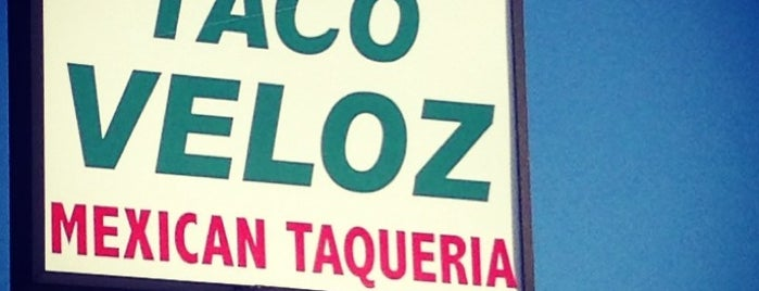 El Taco Veloz is one of Buford Highway.