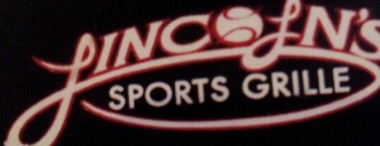Lincoln's Sports Grille is one of Favorite Oak Ridge Restaurants.