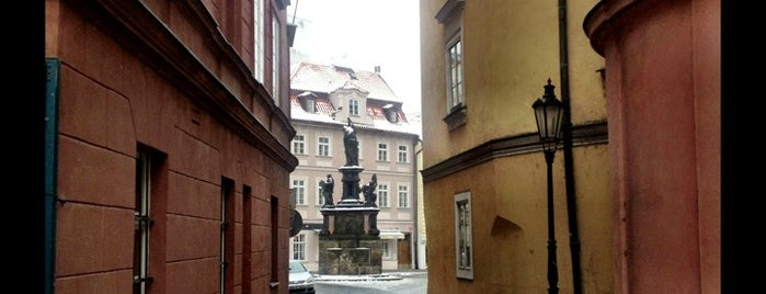 Maltézské náměstí is one of PRAGUE - outings.
