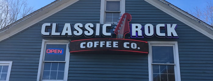 Classic Rock Coffee is one of Coffee, Tea, and Smoothies.