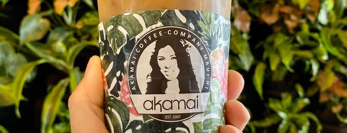 Akamai Coffee is one of Maui.