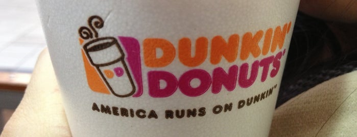 Dunkin' is one of Locais curtidos por Sergio M. 🇲🇽🇧🇷🇱🇷.