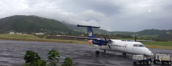 St. Kitts Robert L. Bradshaw International Airport is one of Airports I've been To.
