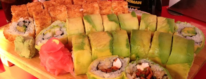 Zuki Sushi is one of Coteさんの保存済みスポット.