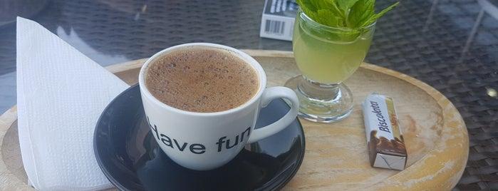 Chicco Doro Caffe Bistro is one of Tempat yang Disukai Levent.