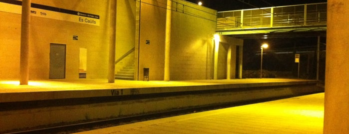 Estación d'Es Caülls/Festival Park is one of Amit : понравившиеся места.
