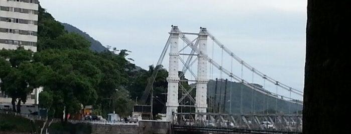 Ponte Pênsil is one of สถานที่ที่ Joao ถูกใจ.