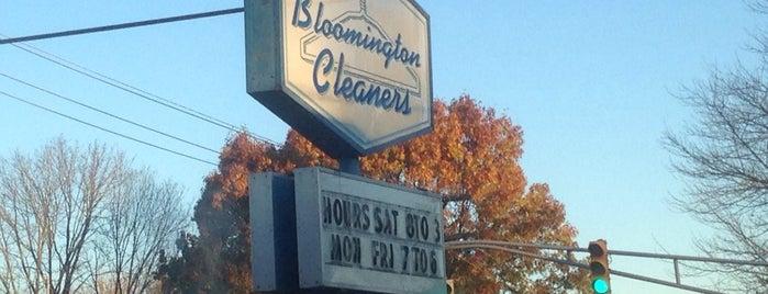 Bloomington Cleaners is one of สถานที่ที่ Jared ถูกใจ.