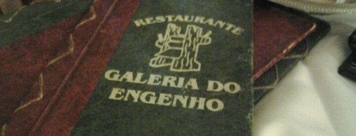 Restaurante Galeria do Engenho is one of Rubens : понравившиеся места.