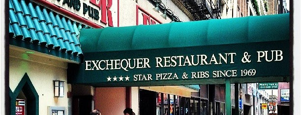 Exchequer Restaurant & Pub is one of Chicago_to do.