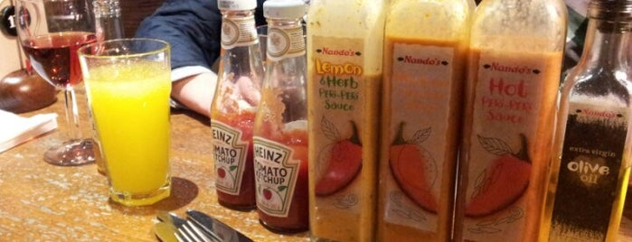 Nando's is one of Liverpool.