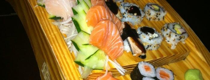Kazuki Sushi Bar is one of Lugares guardados de Ale.