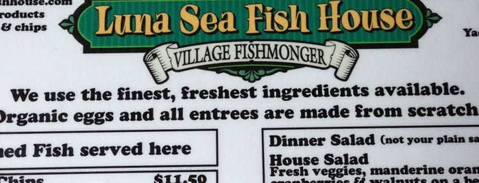 Luna Sea Fish House is one of OREGON THINGS.
