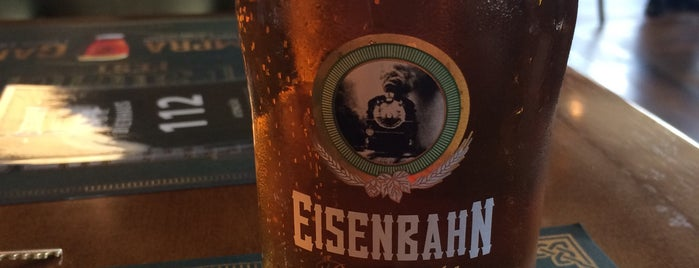 Eisenbahn Bierhaus is one of Blumenau.
