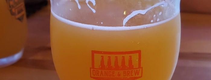 Orange & Brew Bottle Shop & Tap Room is one of FT7.