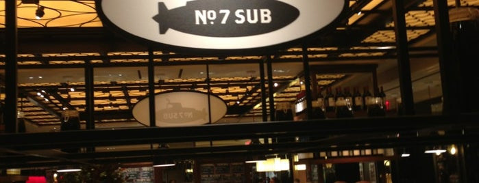No. 7 Sub is one of sandwiches.
