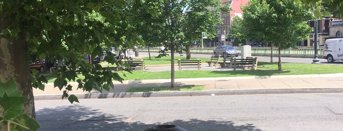 Dupont Triangle Park is one of Nation's Capitol.