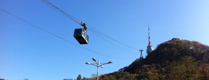 Namsan Cable Car is one of Yodpha's Liked Places.
