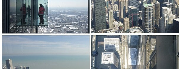 Willis Tower is one of Chicago, IL.