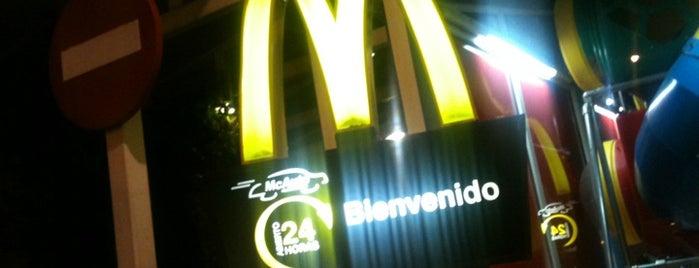 McDonald's is one of Donde comer y tapear en Córdoba.