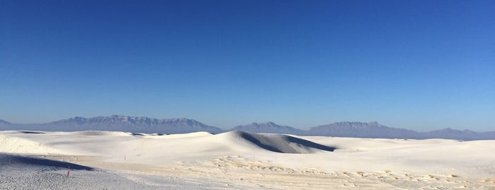 White Sands National Park is one of Lillianさんの保存済みスポット.