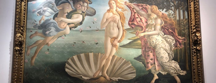 Birth of Venus - Botticelli is one of Florenz vielleicht.