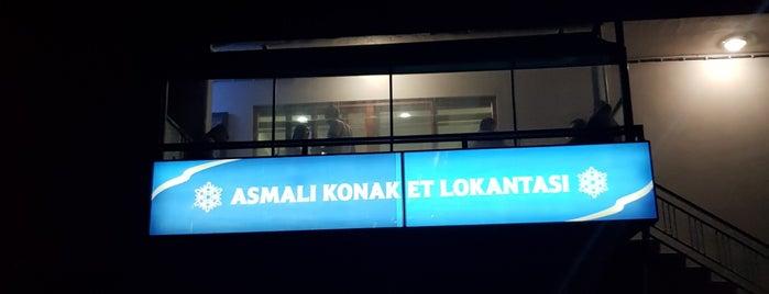 Asmalı Konak Et Lokantasi Kasap Arif'in Yeri Erhan & Arif Kardeşler is one of Orte, die Volkan gefallen.