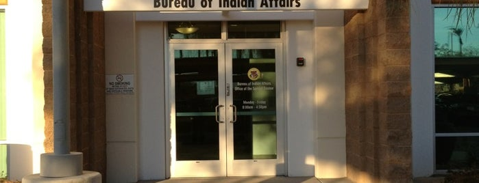 Bureau Of Indian Affairs is one of PS.