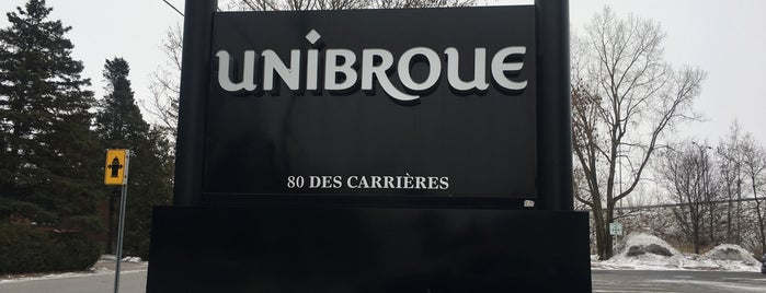 Unibroue is one of Microbrasseries Québec.