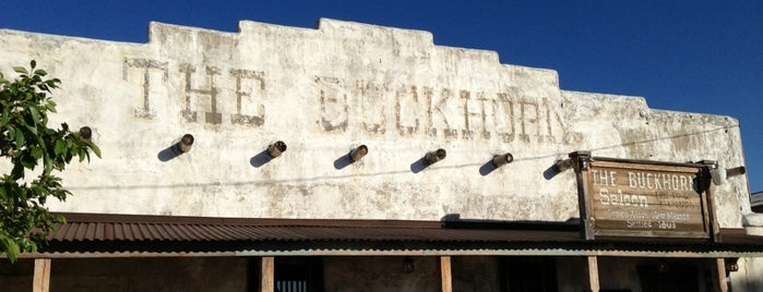 Buckhorn Saloon is one of New Mexico Adventure.