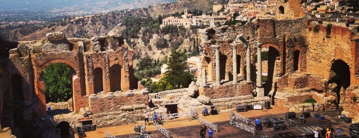 Teatro Greco is one of Sicily.